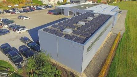 Photovoltaikanlage Gewerbe Darmstadt