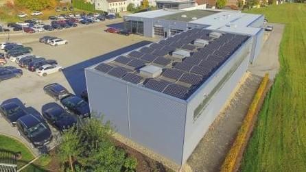 Photovoltaikanlage Gewerbe